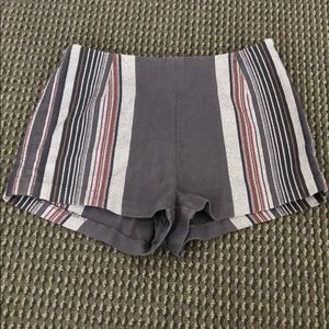 free people shorts size 2!  fun pattern for summer